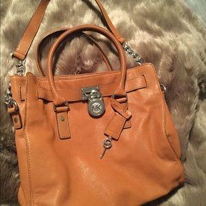 Handbags - Michael Kors Hamilton Satchel Bag